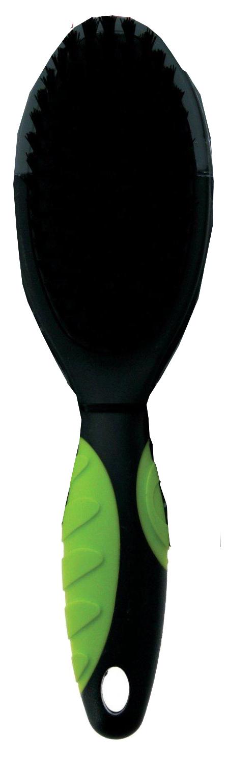 Щетка для собак ZOLUX нейлон, цвет зеленый,