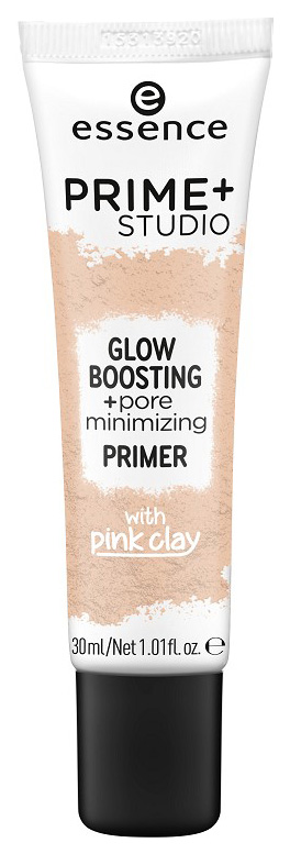 Основа для макияжа Essence Prime+Studio Glow Boosting+Pore Minimizing