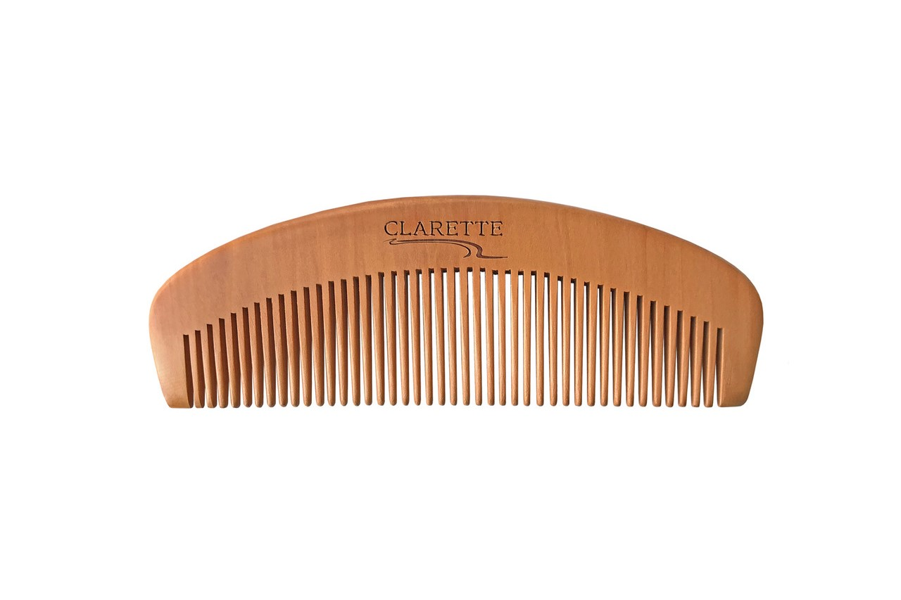 Расческа-гребень CLARETTE деревянная