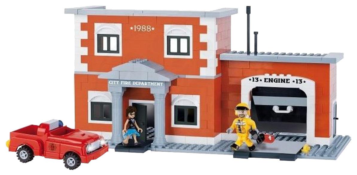 Купить Конструктор пластиковый COBI Пожарное депо,