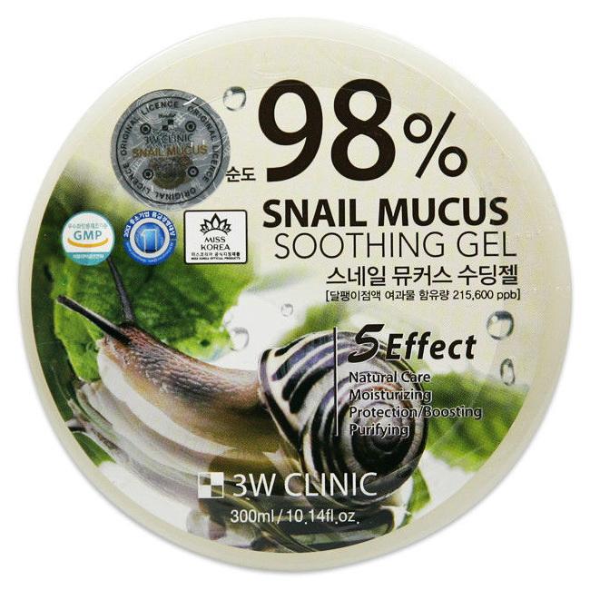 Крем для тела 3W Clinic Snail Soothing