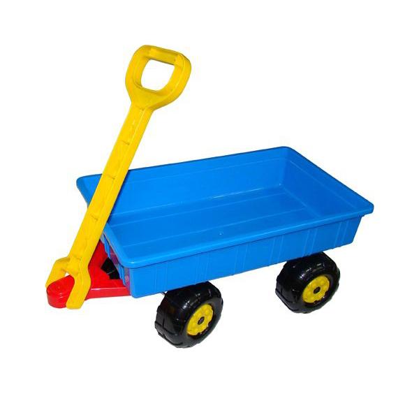 Купить Тележка игрушечная Полесье Дачная, Детские тележки для супермаркета
