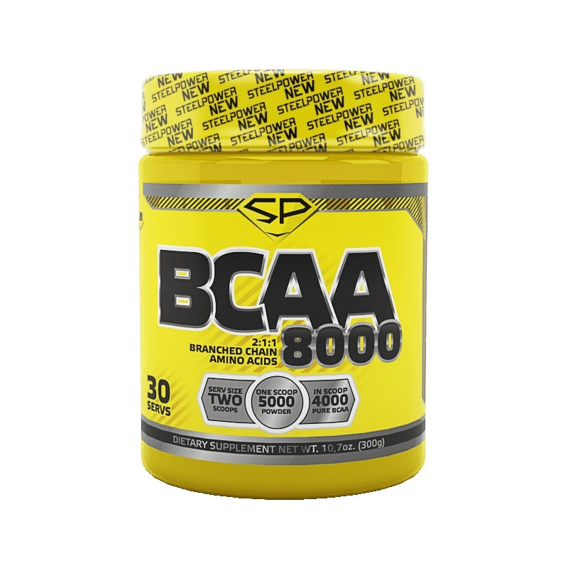 Steel Power Nutrition BCAA 8000 300 г клюква