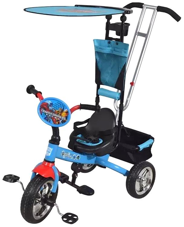 Велосипед детский трехколесный Bonna Трансформеры Голубой фото
