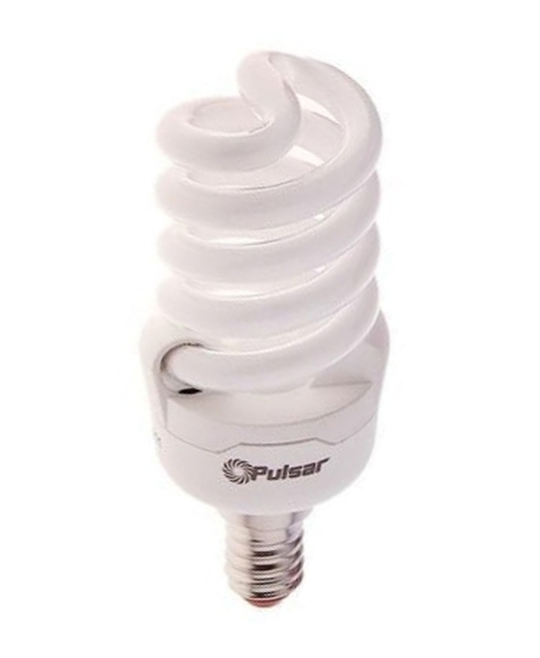 Лампа энергосберегающая Pulsar Sp E14 15W(900Lm) 4000