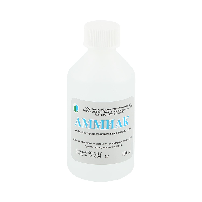 Аммиак раствор 10 % 100 мл
