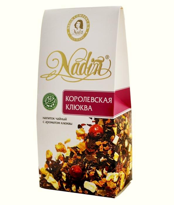 Чайный напиток листовой Nadin королевская клюква 50 г