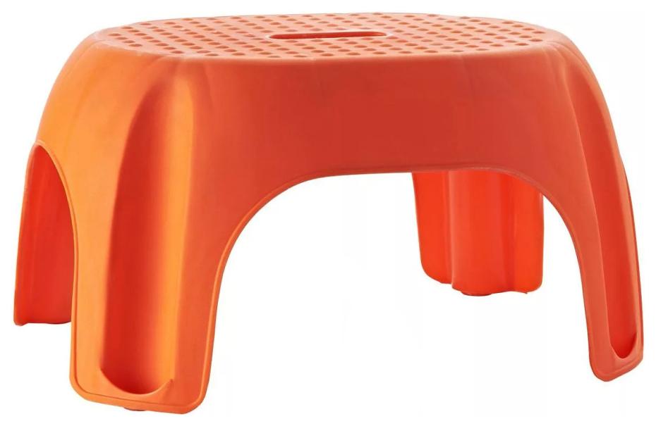 Табурет в ванну RIDDER Promo оранжевый