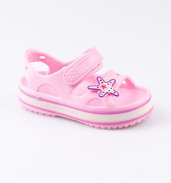 Купить Пляжная обувь Котофей для девочки р.29 325077-02 розовый, Шлепанцы и сланцы детские