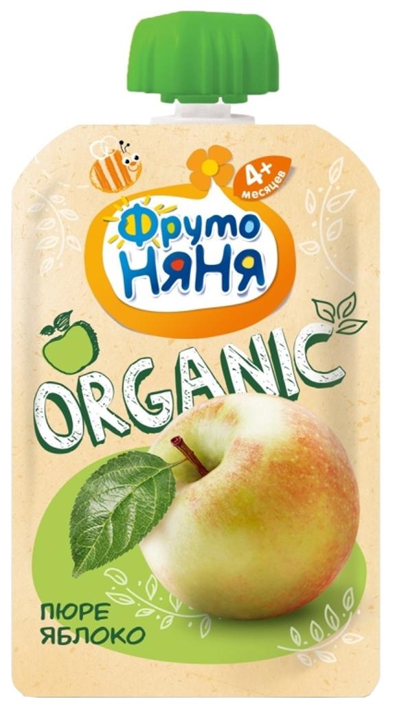Пюре фруктовое ФрутоНяня Organic Яблоко с