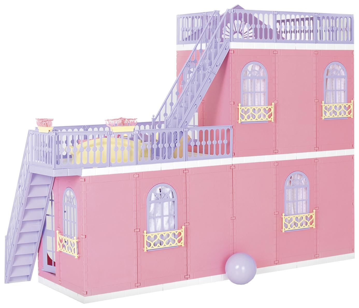Купить Кукольные домики, Коттедж игрушечный Огонек Маленькая принцесса