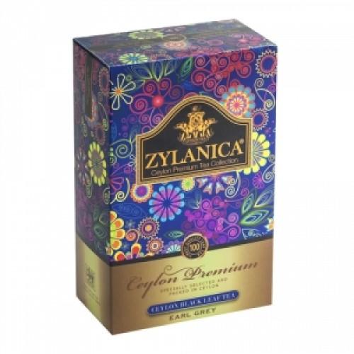 Чай черный листовой Zylanica ceylon premium collection бергамот FBOP 100 г фото