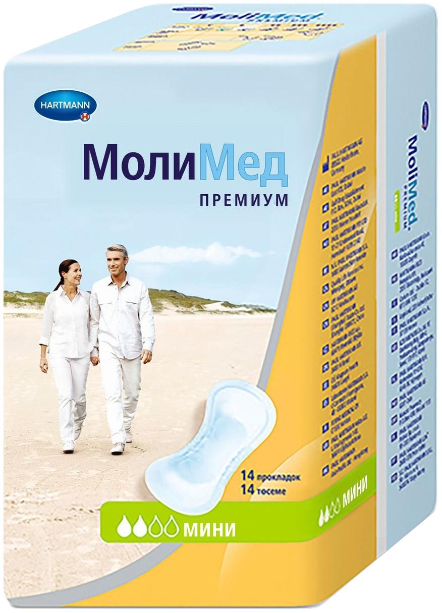 Прокладки гигиенические Hartmann MoliMed Premium Mini