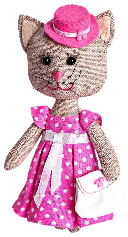 Купить ПЕРЛОВКА Набор для изготовления текстильной игрушки Тётя Кошка ПЛДК-1456, Перловка, Рукоделие