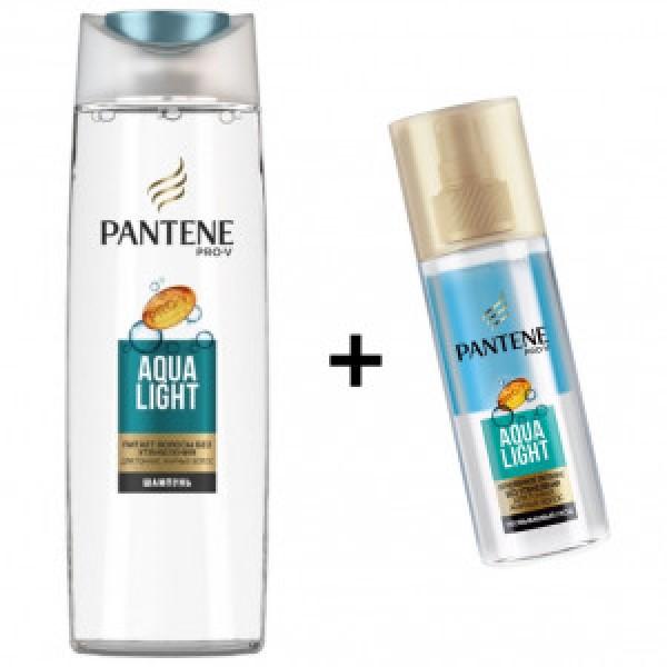 Набор Aqua Light Pantene Шампунь 250мл+Спрей Мгновенное Питание 150 мл