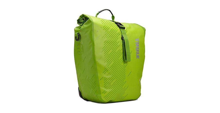 Велосипедная сумка Thule Shield Pannier L Chartreuse