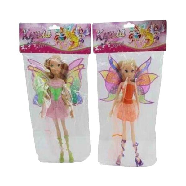 Купить Кукла Стань Звездой Фея с Крыльями 30 см Shantou Gepai Wx807K, 4 вида в ассортименте,