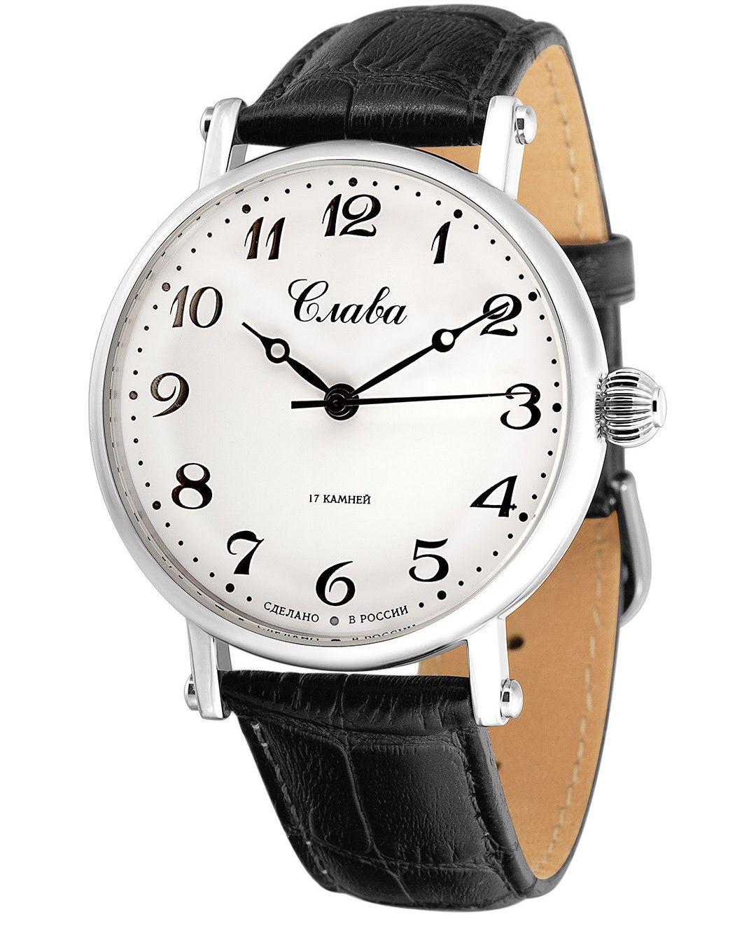 Наручные механические часы Слава Премьер 8190895/300-2409.В