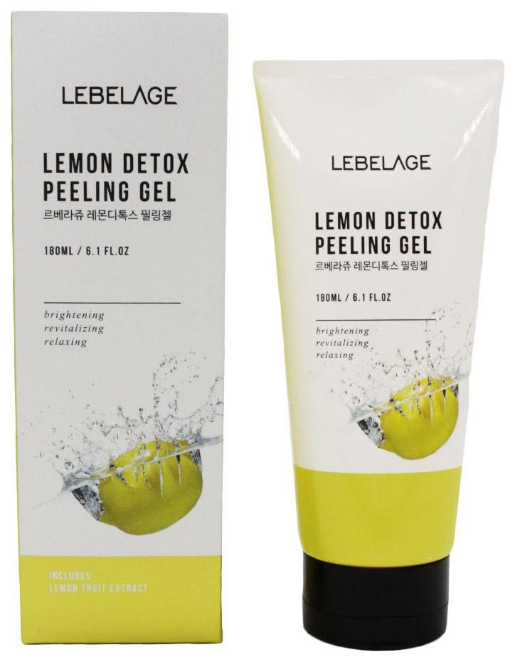 Пилинг для лица Lebelage Lemon Detox Peeling