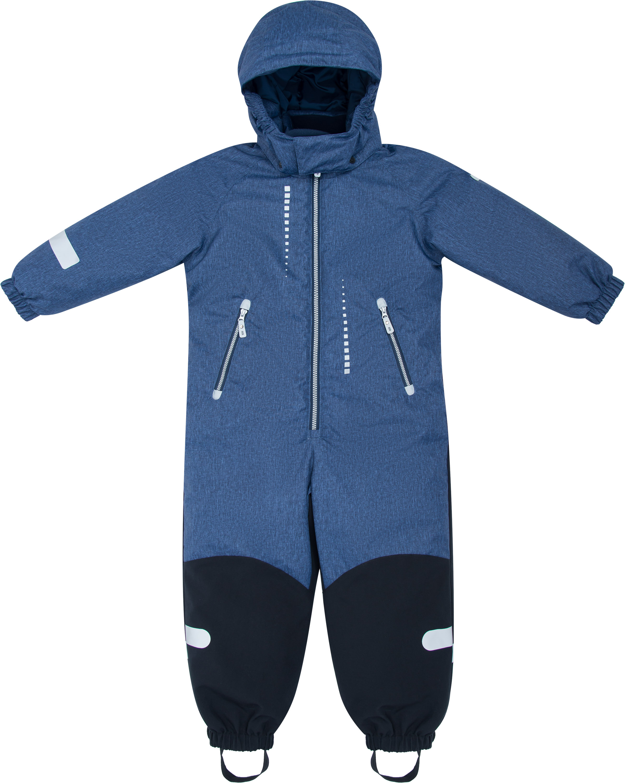 Купить Комбинезон для мальчика Barkito, синий р.98, Детские трикотажные комбинезоны