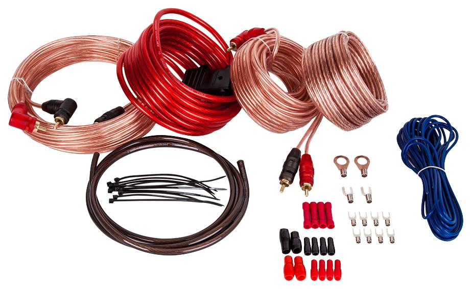 Комплект проводов для подключения автоакустики Kicx AKC10ATC4
