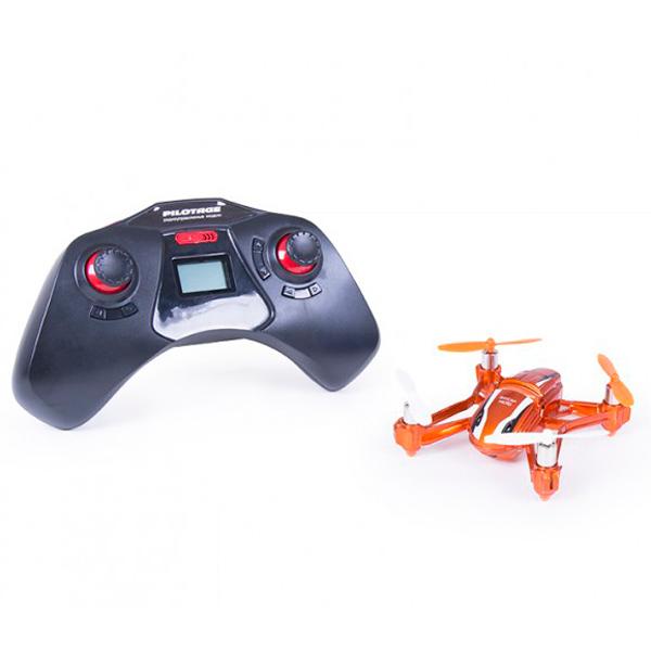 Радиоуправляемый квадрокоптер Skycap micro с камерой, RTF, оранжевый (RC18167) Pilotage
