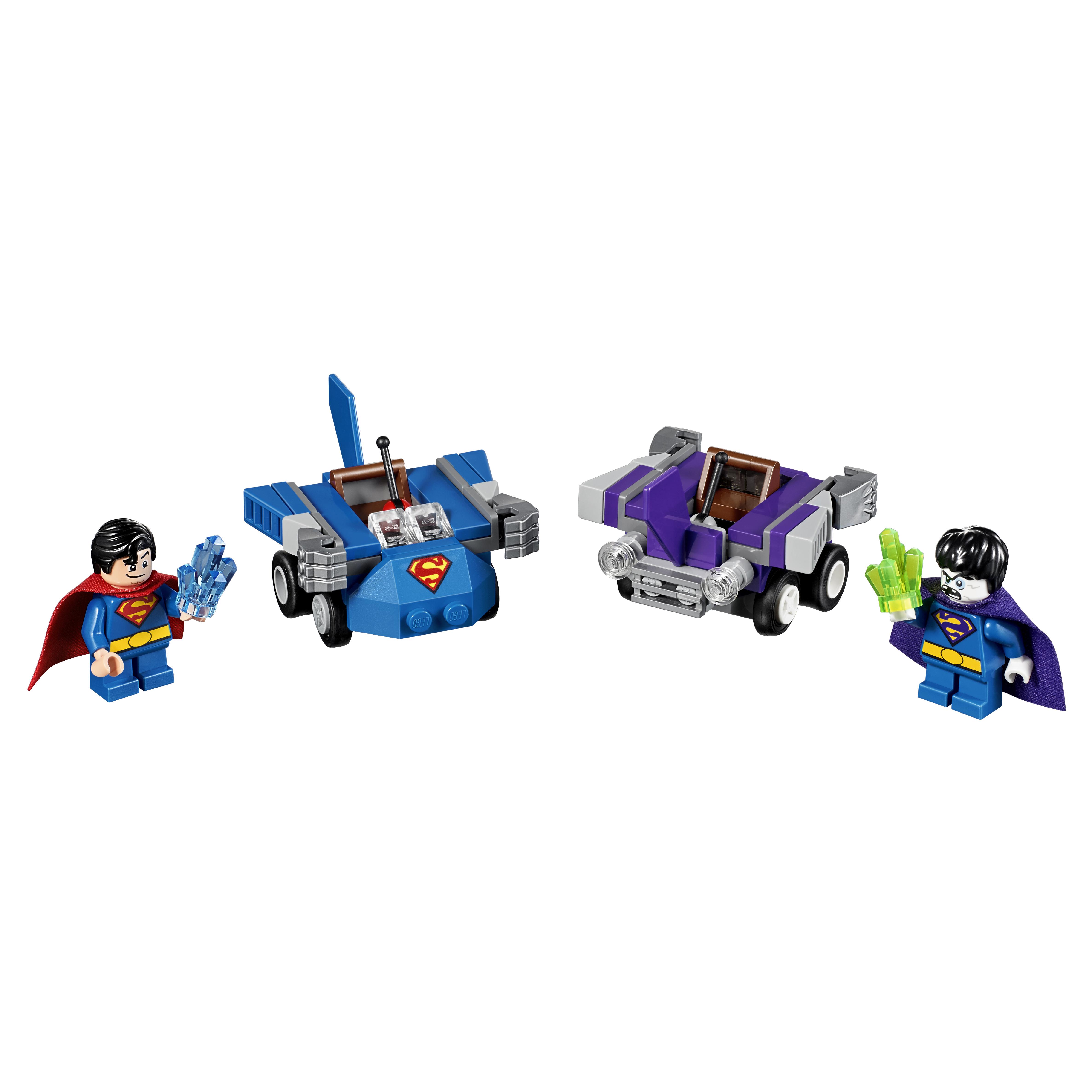 Купить Конструктор LEGO Super Heroes Mighty Micros: Супермен против Бизарро (76068)