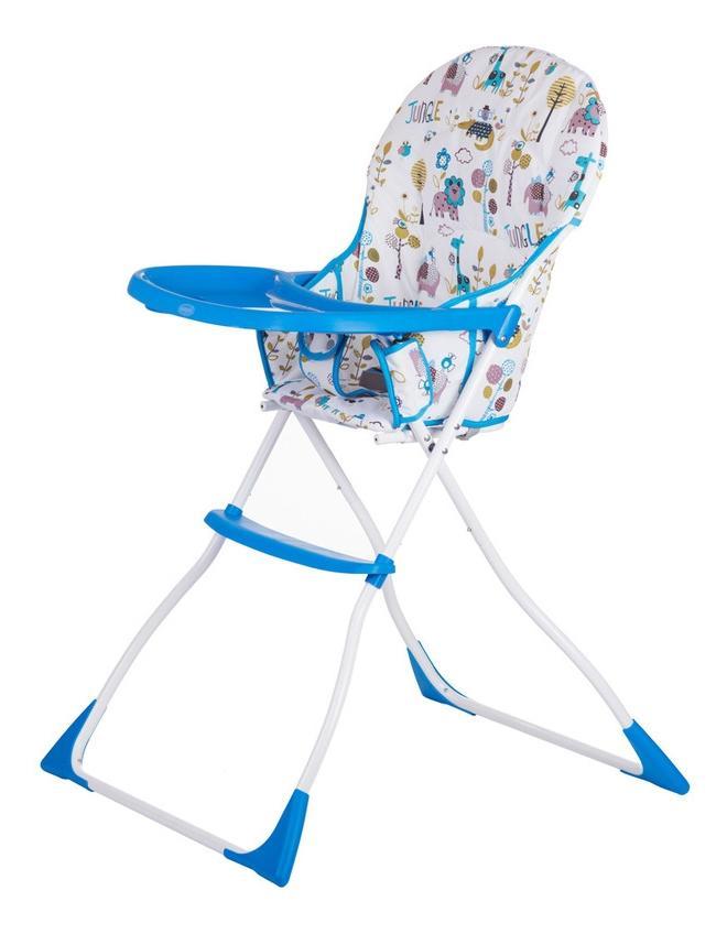 Купить Стульчик для кормления раскладной Babyhit Стульчик детский ВОNВОN BONBON-WHITE-BLUE, Стульчики для кормления