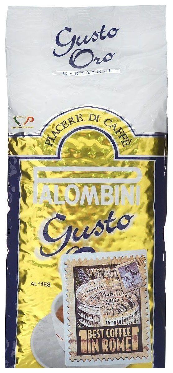 Кофе в зернах Palombini gusto oro 1000 г