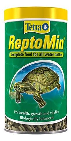 Корм для рептилий ReptoMin в палочках для водных черепах 500мл фото
