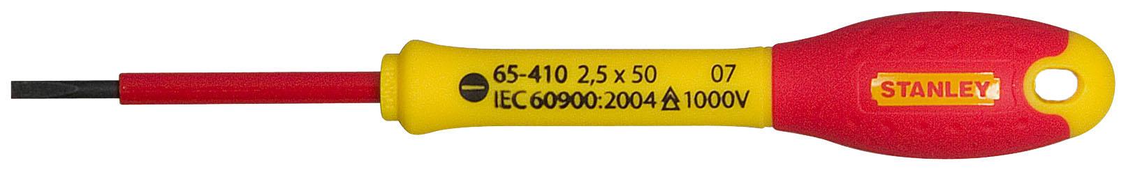 Отвертка Stanley FatMax SL 2.5х50 мм. 1000V.