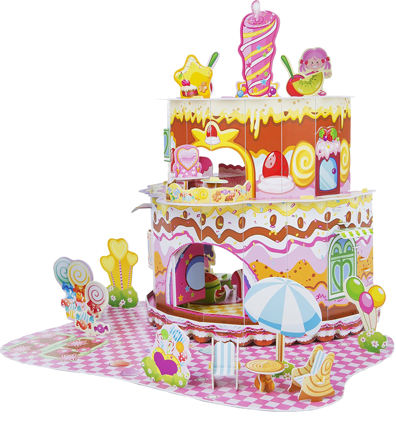 Купить Пазл Melissa&Doug 3D Домик сладостей 100 элементов 9460, Melissa & Doug, Пазлы