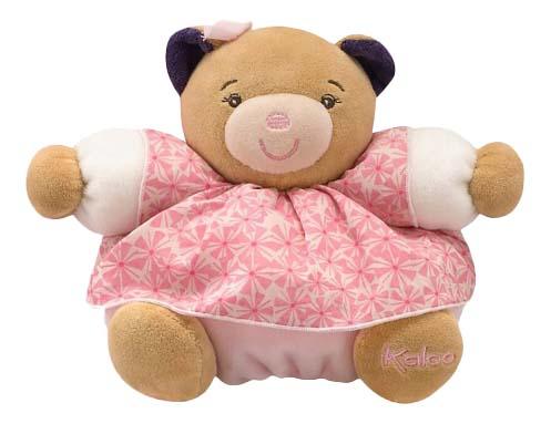 Купить Мишка в юбочке Розочка Красотка маленький 18 см, Мягкая игрушка Kaloo Медведь 18 см (K969861), Мягкие игрушки животные