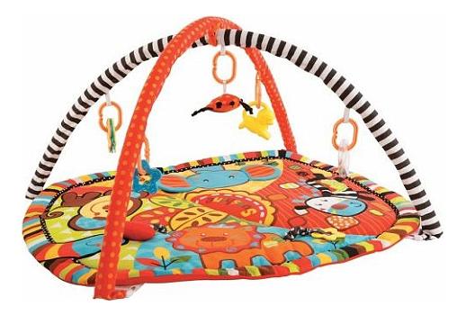 Купить Развивающий коврик Жирафики Ушастики с 6 развивающими игрушками , Развивающие коврики и центры