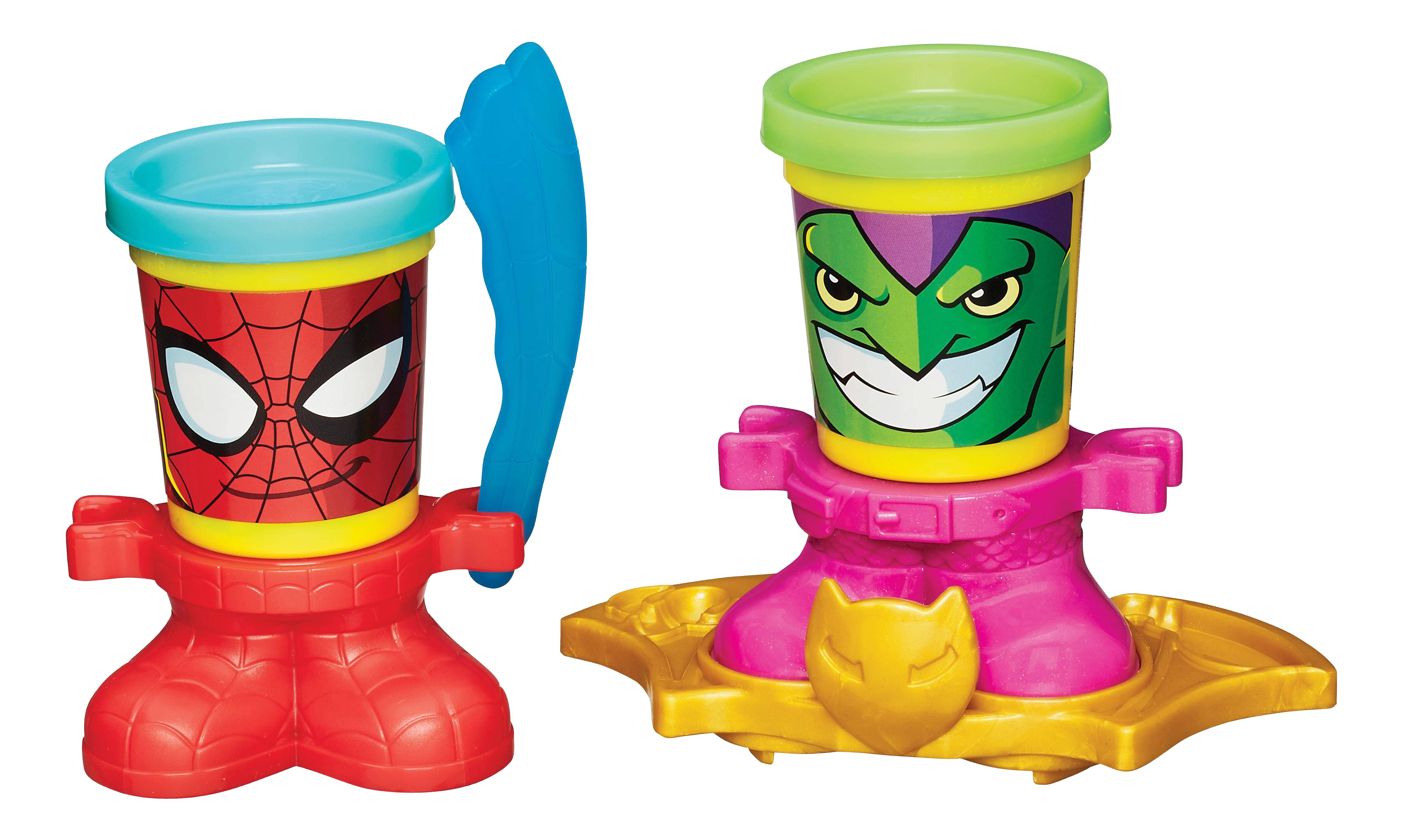 Купить Человек-паук и зеленый гоблин, Фигурка персонажа Фигурки Герои Марвел, Marvel, Игровые фигурки