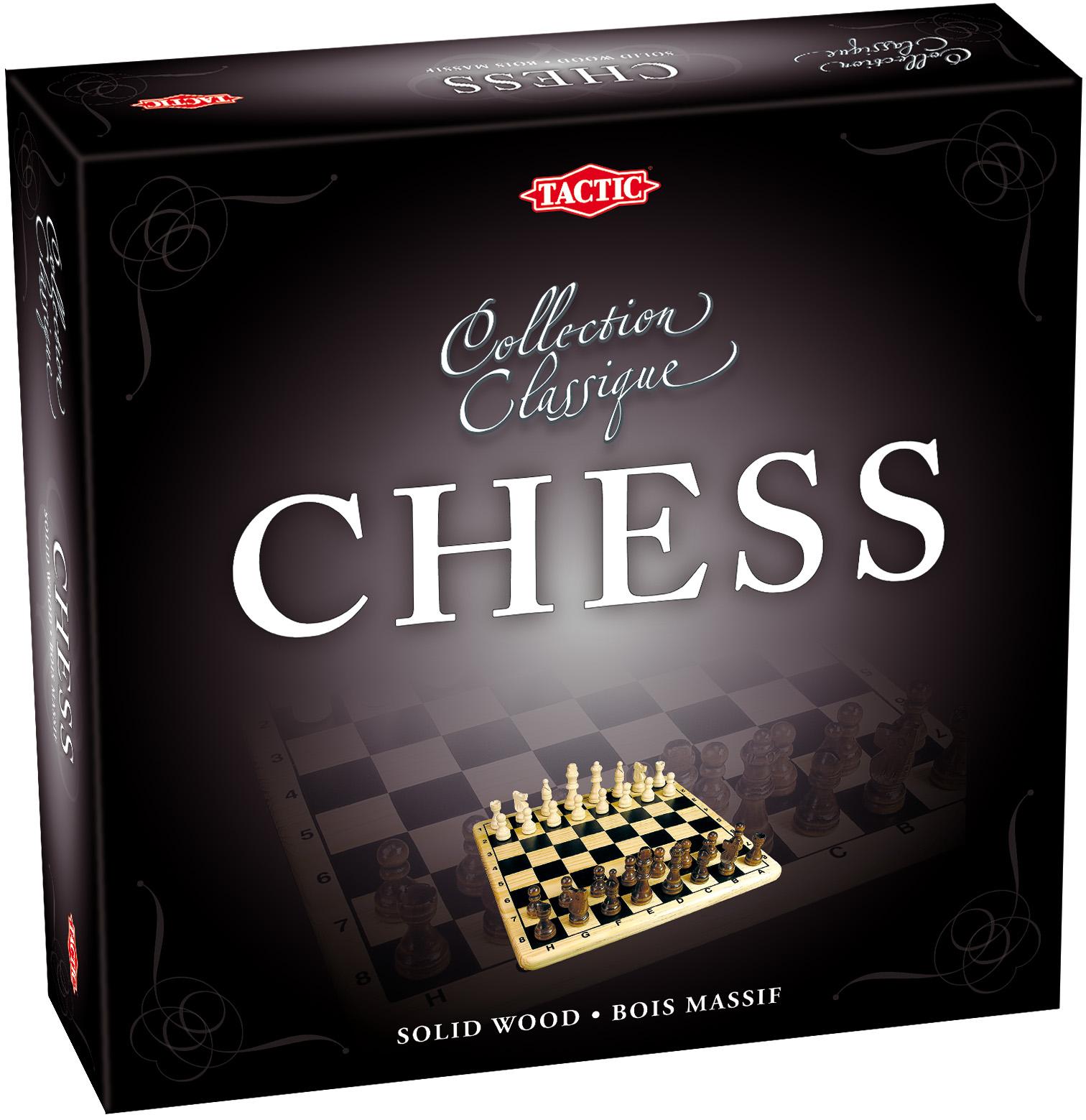 Спортивная настольная игра Tactic Шахматы фото