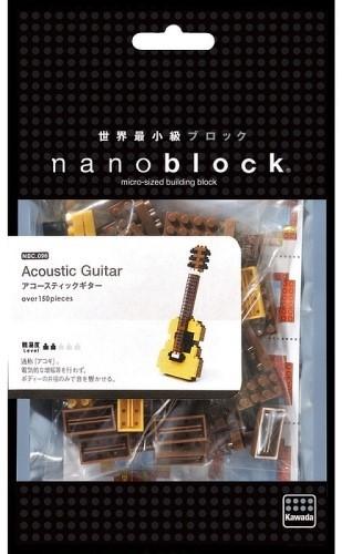 Конструктор NANOBLOCK Акустическая гитара (NBC_096) фото