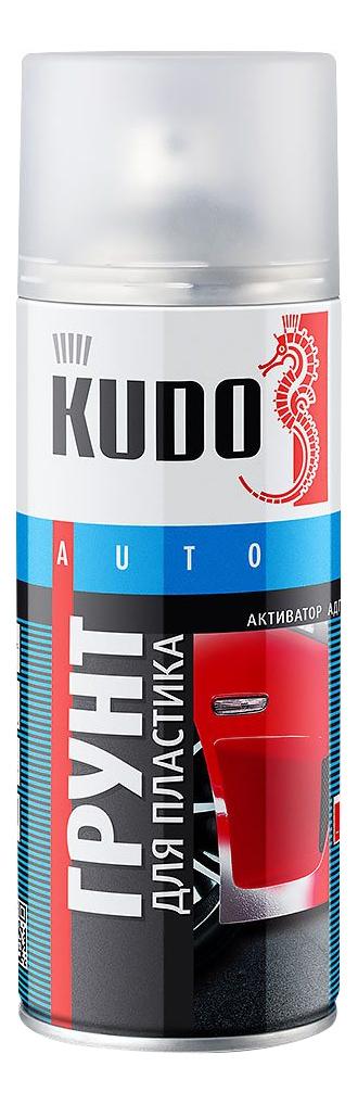 Грунт для пластика прозрачный, KUDO ,520 мл