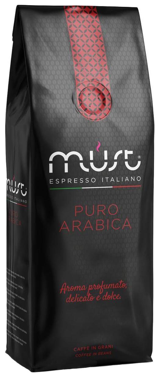 Кофе в зернах Must pure arabica 1000 г