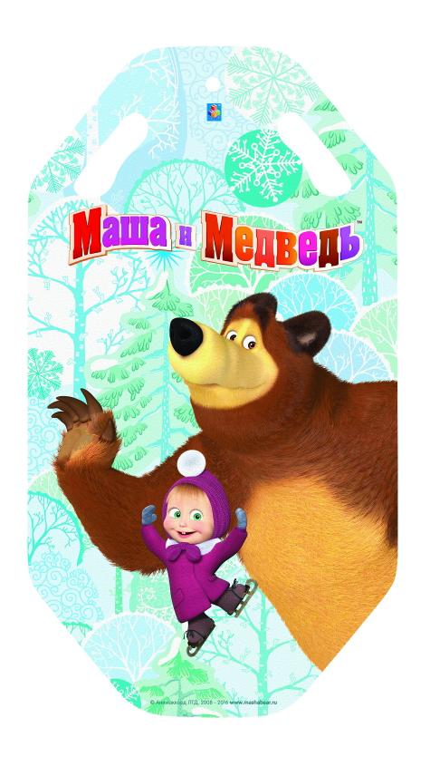 Ледянка детская 1TOY Маша и Медведь 92 см
