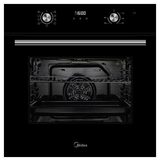 Встраиваемый электрический духовой шкаф Midea MO68100GB Black