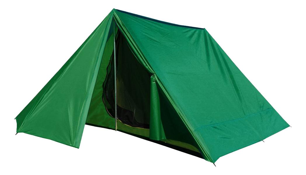 Палатка Prival Шале (Щара) трехместная зеленая