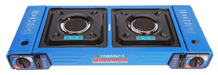 Газовая плита Следопыт UltramaX двойная (с переходником) от Сибирский Следопыт