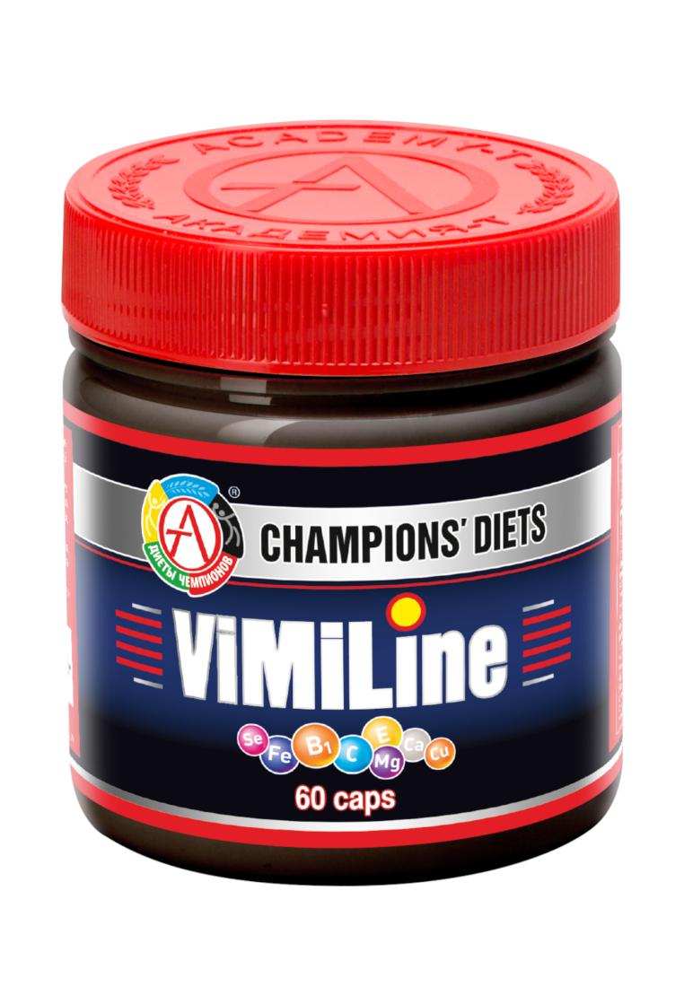 Витаминный комплекс АКАДЕМИЯ-Т ViMiLine 60 капсул фото