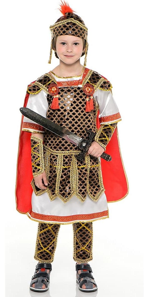 Карнавальный костюм Батик Гладиатор, цв. коричневый р.122