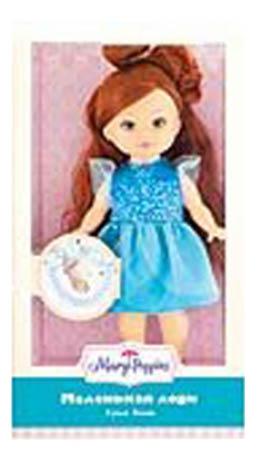 Купить Классическая кукла 451215, Кукла Mary Poppins Элиза с браслетом 25 см 451215, Классические куклы