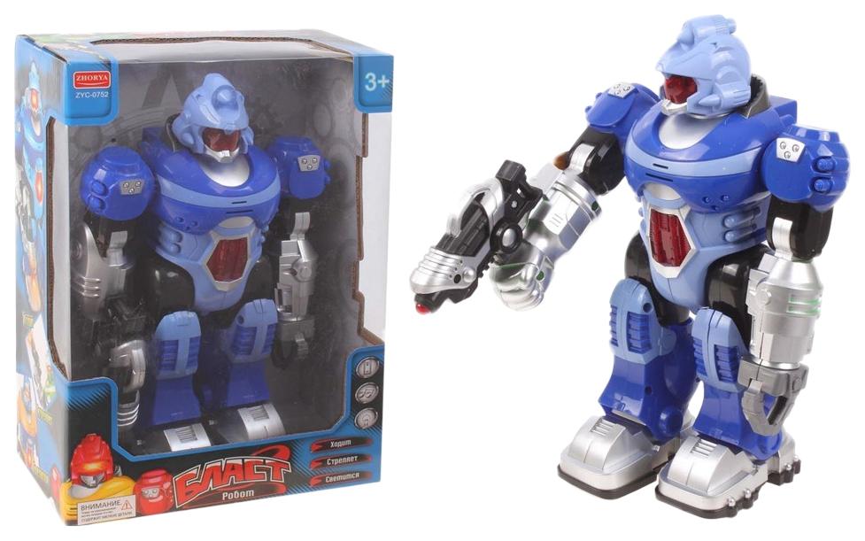 Купить Интерактивный Робот Zhorya бластсо звуком движение zyc-0752-13, Интерактивные мягкие игрушки