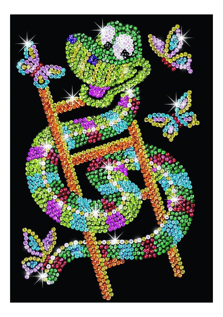Мозаика из блесток KSG Змейка фото