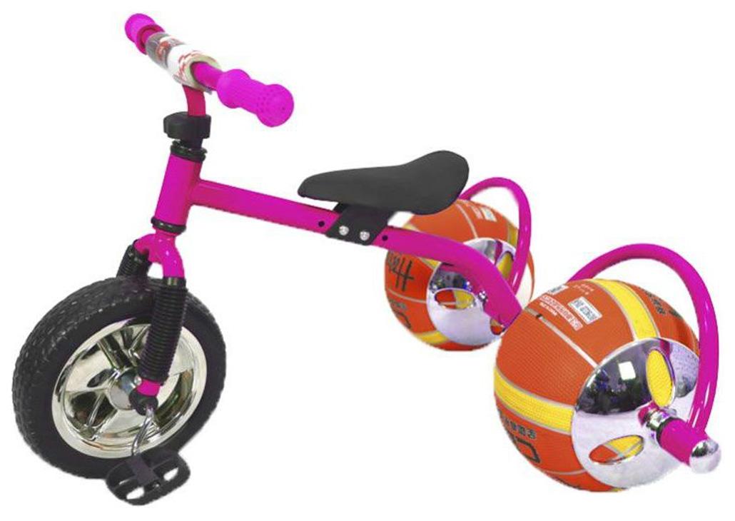 Велосипед трехколесный Bradex Баскетбайк Розовый