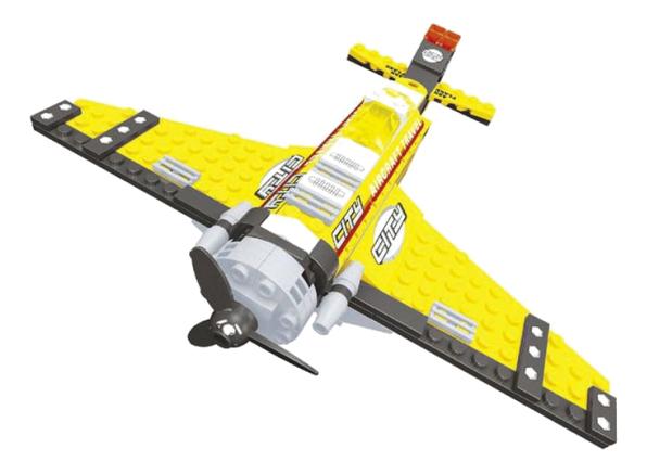 Купить Конструктор город самолет 140 деталей Г54857, Конструктор Город Самолет 140 деталей Г54857 Ausini, Конструкторы пластмассовые